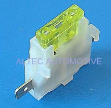 IN-LINE STANDARD BLADE TYPE FUSE HOLDER (ALT/FU8-WH)
